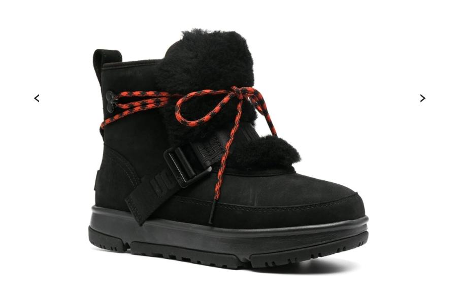 รองเท้า UGG Weather Hiker suede boots