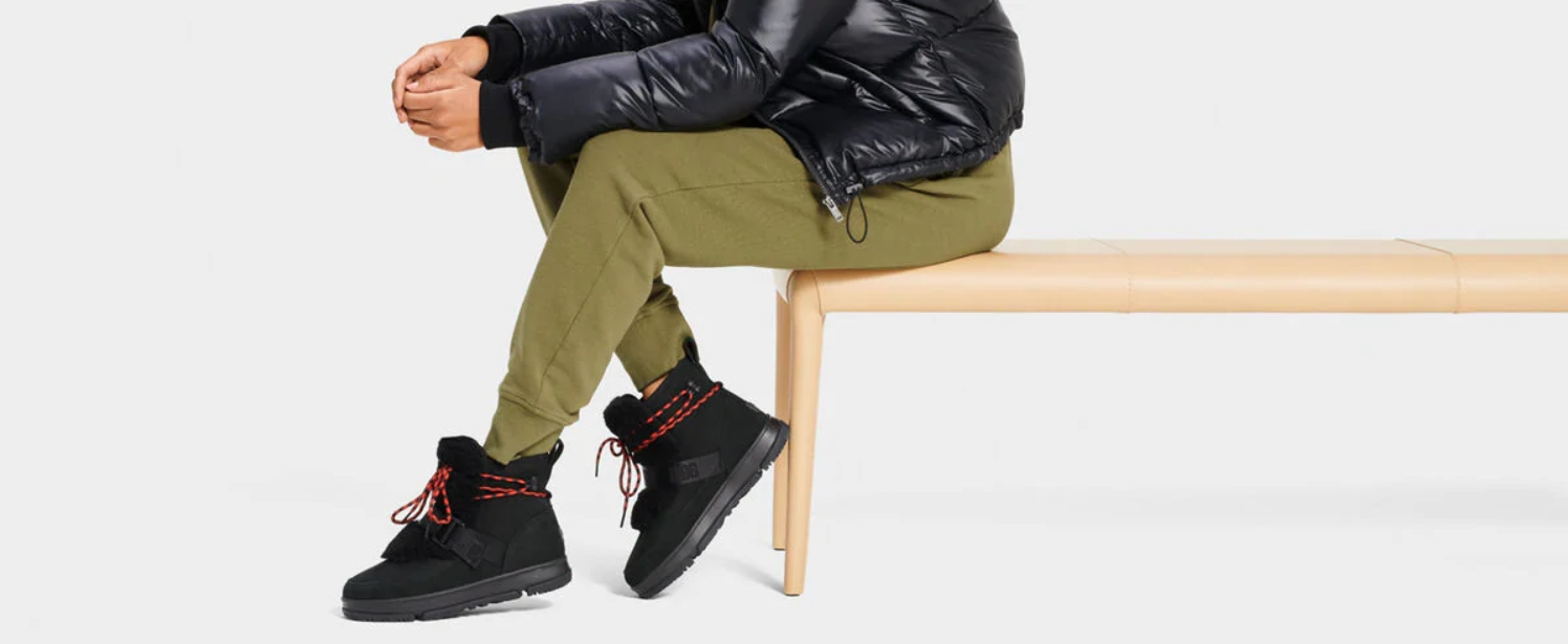 UGG Australia hiker boots in black